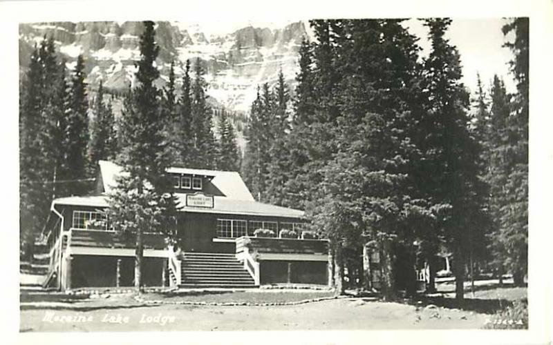 RPPC of Moraine Lake Lodge Alberta