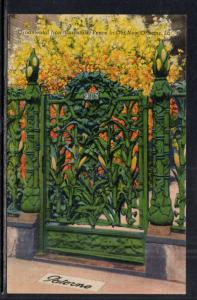 Ornamental Iron Fence in New Orleans,LA