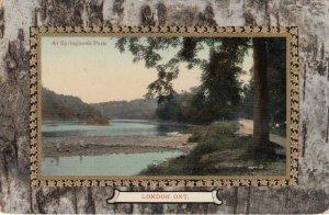 LONDON , Ontario , Canada , PU-1910 ; Scene at Springbank Park