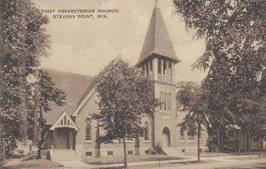 Wisconsin Stevens Point First Presbyterian Church Albertype