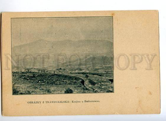 172226 SOUTH AFRICA Transvaal Barbertown Vintage postcard