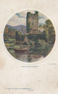 TUCK # 9730; 1900-10s; Ross Castle, KILLARNEY, Ireland, AS: E. Longstaffe
