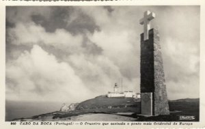 CAPE ROCK , Portugal , 1920-40s; Lighthouse