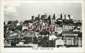 Postcard Modern Lisboa Castelo de Sao Jorge