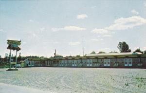 MONTMAGNY, Quebec, Canada, 1940-1960's; Motel Lamo, Route 2
