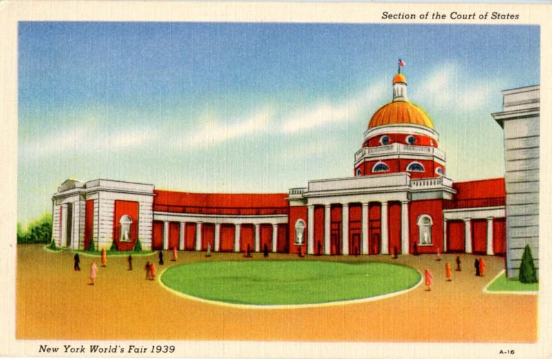 NY - New York World's Fair, 1939. Section of the Court of States
