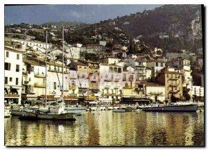 Modern Postcard Villefranche sur Mer Alpes Maritimes Le Quai Amiral Courbet i...