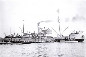 Vintage Reproduction Postcard Steam Ship SS Beothic Canadian Cargo Vessel 49A