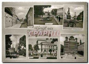 Modern Postcard Gruss aus Augsburg