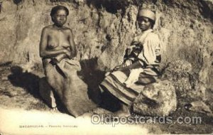Madagascar - Femmes Betsileo African Nude Unused minor roundness on corner fr...