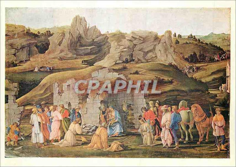 Postcard Modern National Gallery Filippino Lippi The Adoration of the Kings