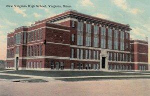 VIRGINIA, Minnesota, 1911; New Virginia High School