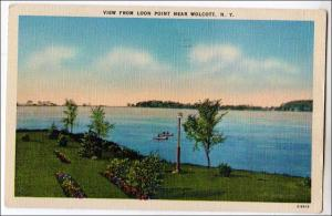 View from Loon Point, Wolcott NY