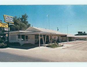 Unused Pre-1980 BIG HORN MOTEL Buffalo Wyoming WY s4105