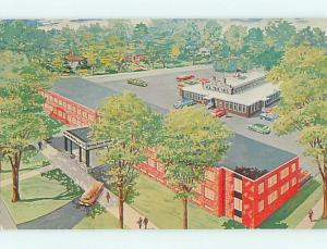 Unused Pre-1980 OLD CARS & CARRIAGE HOUSE MOTEL Watertown New York NY u2611-33