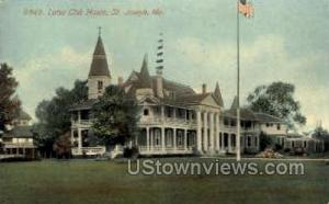 Lotus Club House St. Joseph MO 1914
