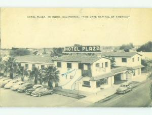 1940's PLAZA HOTEL Indio California CA HQ5678