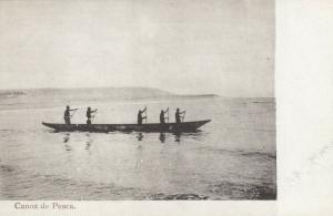ANGOLA , Africa , 1900-10s ; Canoa de Pesca