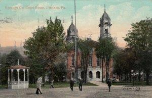 FRANKLIN, Pennsylvania, PU-1910; Venango Co. Court House, Gazebo