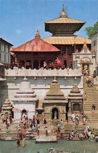 BT13927 Temple of pasupati Nath Kathmandu           Nepal