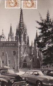 Spain Barcelona The Cathedral 1956 Real Photo