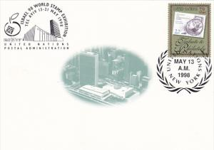 Israel '98 World Stamp Exhibition United Nations Postal Administration