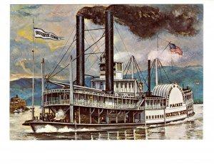 Buckeye State, Side Wheeler  River Boat,  Ohio River