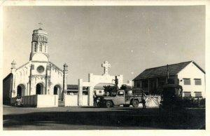 PC CPA LAOS, INDOCHINA, CHURCH SCENE, (b23382)
