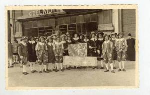 RP  Parade, Leige, Belgium, 20-40s men with banner
