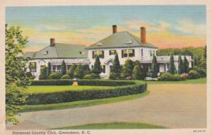 North Carolina Greensboro Starmount Country Club Curteich