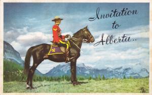 Royal Canadian Mounted Police, Jasper National Park, JASPER, Alberta, Canada,...