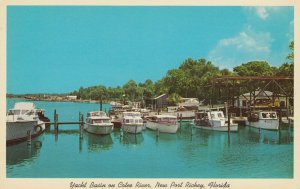 New Port Richey , Florida, 1950-60s ; Yacht Basin