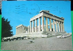 Greece Athens The Parthenon East side - posted 1979