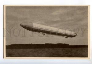 247969 GERMANY Zeppelin airship 1938 year mark postcard