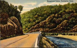 Connecticut Torrington Scene In Naugatuck Valley 1949