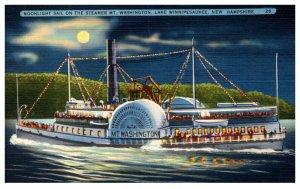 Steamer Mt. Washington , Midnight Sail