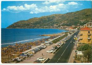 Italy, Andora, La Spiaggia, 1973 used Postcard