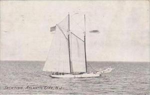 New Jersey Atlantic City Yachting 1909