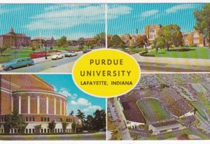 Indiana Lafayette Memorial Union Band Shell Ross-Ada Stadium & Purdue Oval Pu...