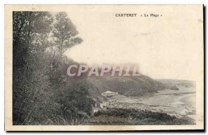Old Postcard The Carteret Beach