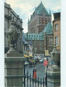 Unused Pre-1980 TOWN VIEW SCENE Quebec City QC p9076
