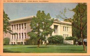 California Long Beach Central Public Library 1951