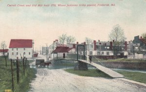 FREDERICK , Maryland, 1900-10s ; Carroll Creek & Old Mill