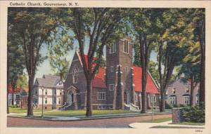 New York Gouverneur Catholic Church