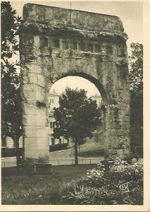 Postal 51226: AIX LES BAINS - Arco de Campanus