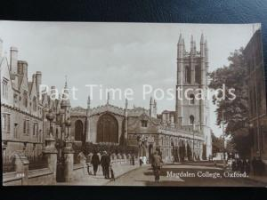 Old RP - Oxford: MAGDALEN COLLEGE by Penrose & Palmer 50 High St.