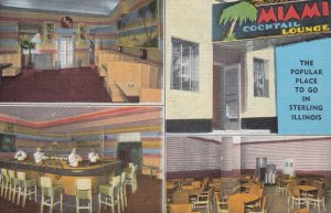 STERLING , Illinois , 1930-40s ; Miami Cocktail Lounge
