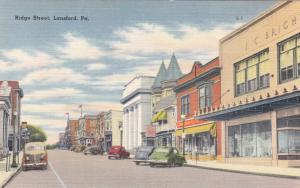 LANSFORD , Pennsylvania , 30-40s ; Ridge Street, Store Fronts