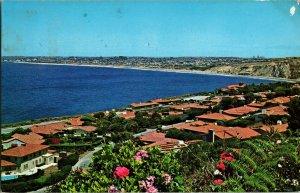 Postcard 1963 Aerial Birdseye View Palos Verdes Estates California