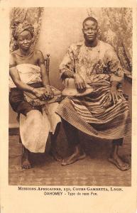 B95151 type de race fon benin dahomey types folklore costumes africa types